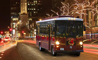 Cleveland Holiday Lights Trolley Tours