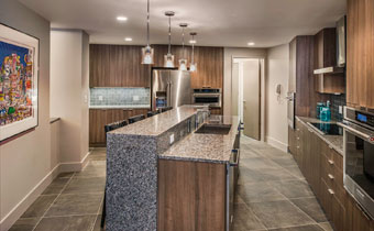 Three Bedroom Penthouse Apartment suite kitchen