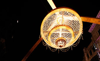 Playhouse Square Chandelier by Larry E. Highbaugh, Jr.