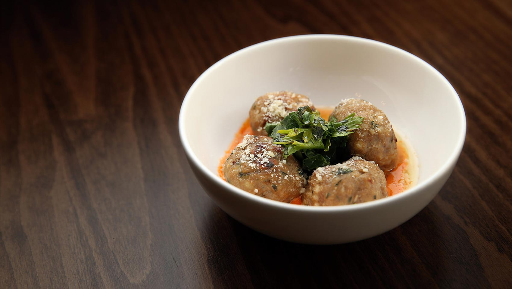 Parker's Downtown lamb meatballs